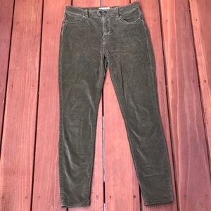 Free People High waisted Corduroy Skinny Jeans W26